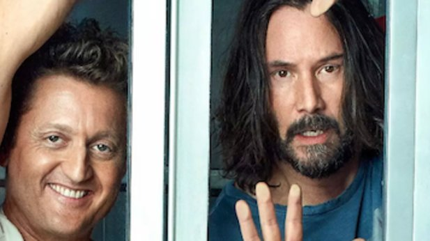 Keanu Reeves announced Bill and Ted 3
