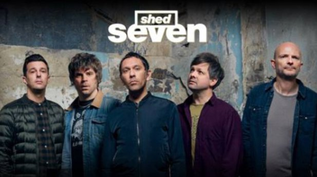 We've woken up twenty years ago: there's a new Shed Seven song