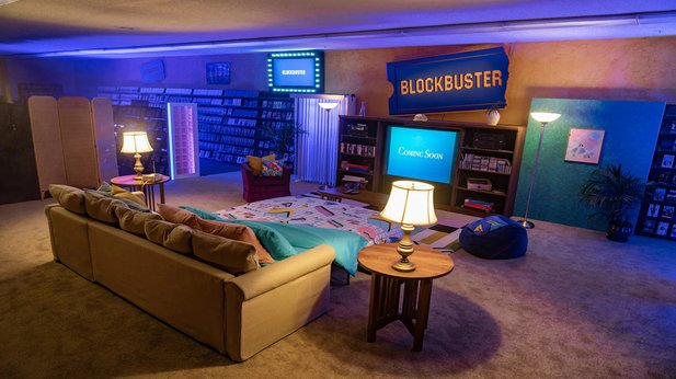 You can now spend a night in the world's last Blockbuster