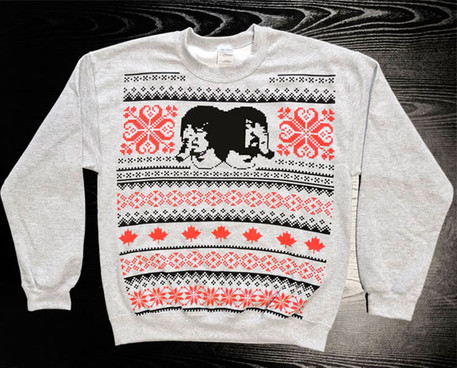 Here's the Death From Above 1979 Christmas jumper | SupaJam / News