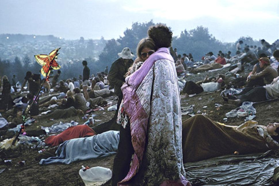 Extrêmement Photo of the day: Couple from iconic Woodstock album cover  AU82